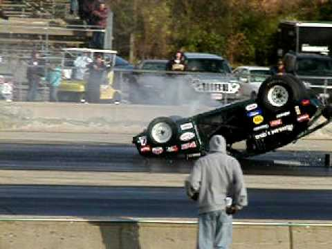 Chevette Wheelie And Flip At A Wheelie Contest - Winner!
