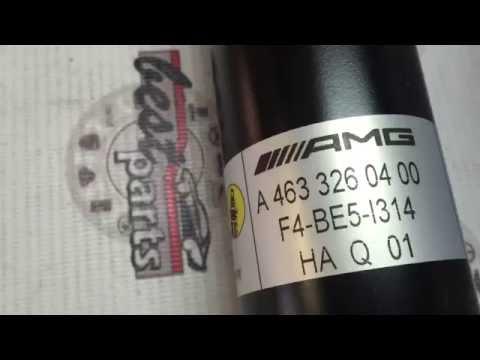 A4633260400, A 463 326 04 00 Амортизатор задний AMG Mercedes G W463