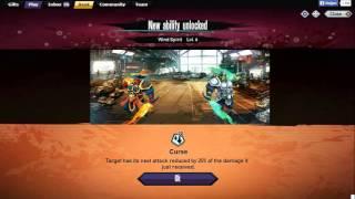 getlinkyoutube.com-Mutants Genetic Gladiators ( New Mutant Wind Spirit Attacks )