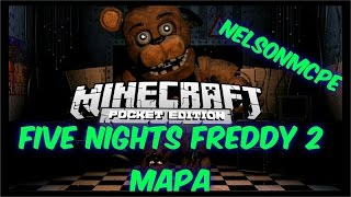 getlinkyoutube.com-FIVE NIGHTS AT FREDDY 2 MAPA 0.14.0 | MINECRAFT POCKET EDITION | NELSONMCPE | DESCARGA