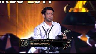 Actor of the Year - Indonesian Choice Awards 2017: Reza Rahadian