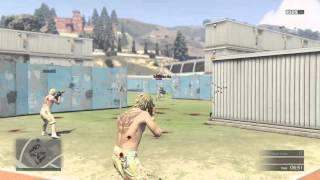 getlinkyoutube.com-GTA-5 Online Training Facility DeathMatch|PS4|