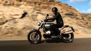 getlinkyoutube.com-The new BMW R nineT Scrambler Preview | AutoMotoTV