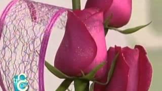 getlinkyoutube.com-Arreglos florales para los 15´s