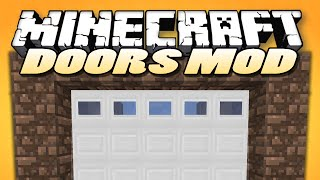 "getlinkyoutube.com-Minecraft Mods | MALISIS DOORS | ""Sliding Doors, Block Mixing"" 