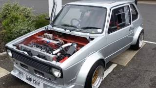 Mk1 Golf Honda K20 Engine FULL BUILD PICTURES