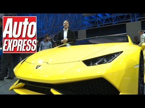 Lamborghini Huracan at the Geneva Motor Show 2014