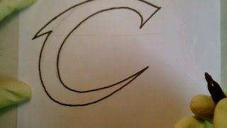 getlinkyoutube.com-How To Draw Cleveland Cavaliers Logo Sign Easy Step By Step NBA Finals Basketball Playoffs