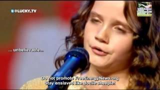 getlinkyoutube.com-信じられない!9歳の少女がオランダテレビで新世界秩序の計画を暴露しました。