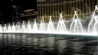 getlinkyoutube.com-Amazing Bellagio fountain show, Las Vegas - Michael Jackson - Billie Jean (HD Video)