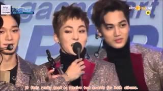 getlinkyoutube.com-[ENG SUB] 160217 가온차트 Gaon Chart K-Pop Awards EXO Awards