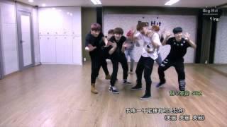 getlinkyoutube.com-[MONdaySUN中字] 防彈少年團 - 男子漢 dance practice (附無聊旁白)