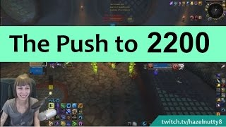 getlinkyoutube.com-First Push to 2200 Rating! Resto Druid Turbo Cleave 3v3 - Stream Highlight