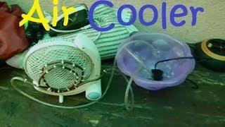 getlinkyoutube.com-How To Make a Homemade AC (Air Cooler)