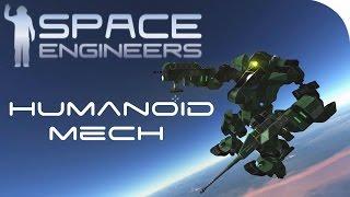 getlinkyoutube.com-Space Engineers Spotlight | 'Humanoid Mech Sniper' By JoeTheAntiPro