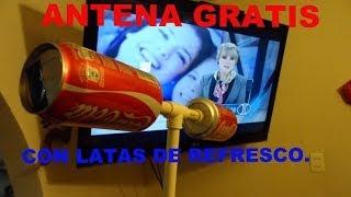 getlinkyoutube.com-✔FABRICA ANTENA DE TELEVISION PARA VER HDTV TDT HD, FACIL DE HACER