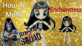 getlinkyoutube.com-How To Make Enchantress Suicide Squad Custom Doll Tutorial | Start With Toys