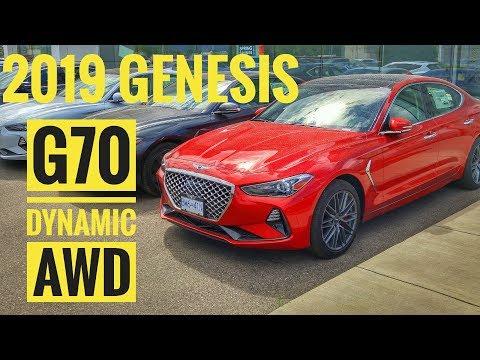2019 Genesis G70 Dynamic AWD Walk Around - Havana Red