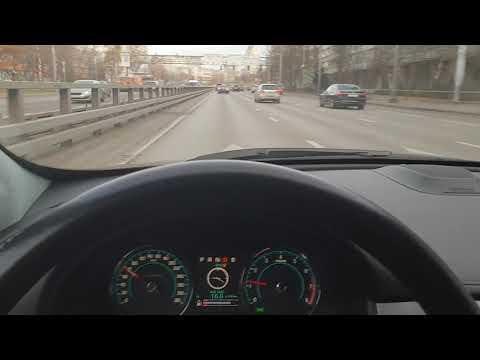 Увод вправо Jaguar XFR после первой регулировки УУК в Рольф Ясенево Москва 1/2