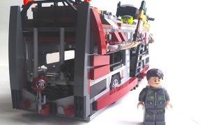 getlinkyoutube.com-LEGO Zombie Apocalypse Survival Bus! (#21)