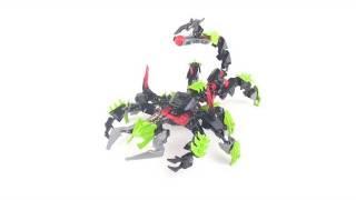 getlinkyoutube.com-LEGO Hero Factory review: Scorpio