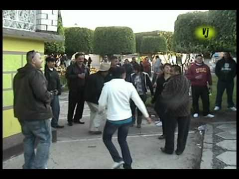 Baile en la Plaze de Villalongin