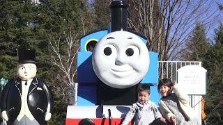 getlinkyoutube.com-トーマスランド へ おでかけ したよ♫ 富士急ハイランド こうくん4歳 Thomas And Friends Town Fuji-Q Highland Thomas Land