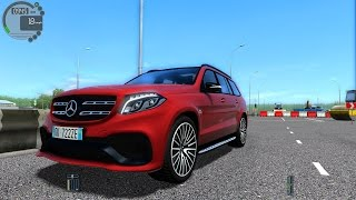getlinkyoutube.com-City Car Driving 1.5.2 Mercedes-Benz GLS63 AMG V8 BITURBO TrackIR 4 Pro [1080P]