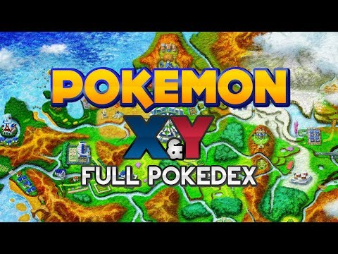 Pokémon X and Y - Kalos Region Pokédex