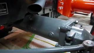 getlinkyoutube.com-Kubota L3400 HST 50 Hour Service (Part 3: Front Axle Case Oil Change)