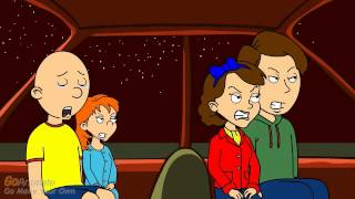 getlinkyoutube.com-Caillou Misbehaves On The Way To Big Hero 6 [MOST VIEWED VIDEO]