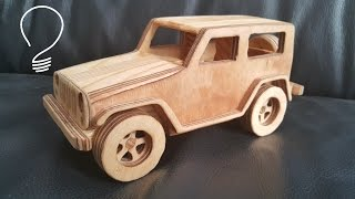 getlinkyoutube.com-Making Jeep Wrangler Toy Car