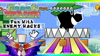 getlinkyoutube.com-Super Paper Mario- Fun with Enemy Hacks