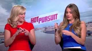 Sofia Vergara and Reese Witherspoon play Mrs & Mrs and talk Hot Pursuit
