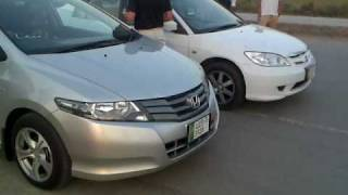 getlinkyoutube.com-honda civic vti oriel manuel vs honda city
