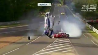getlinkyoutube.com-24h of Le Mans - Crash Compilation 2000 - 2013 (NO MUSIC!) part 2