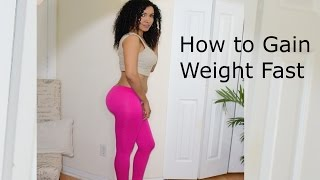 getlinkyoutube.com-How to gain weight fast