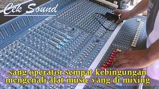 Cek Sound System Dangdut Orgen Semua Sang Operator Sempat Bingung