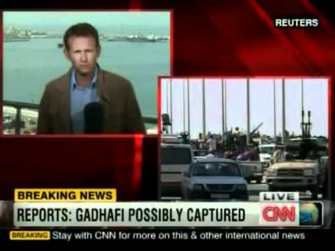 CNN BREAKING NEWS: Muammar Gaddafi captured in Sirte