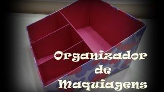 getlinkyoutube.com-DIY | Organizador de Maquiagens