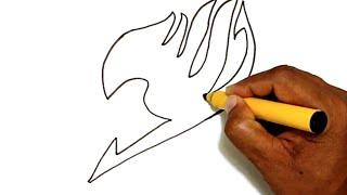 getlinkyoutube.com-How to Draw the Fairy Tail Logo
