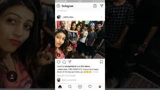 Amrita khanal Birthday pics||earth entertainment