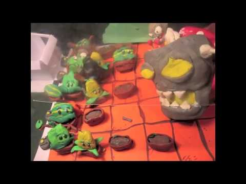 Plants vs Zombies Claymation: Dr. Zomboss