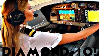 getlinkyoutube.com-FIRST SOLO FLIGHT Diamond 40 Aircraft | Arizona