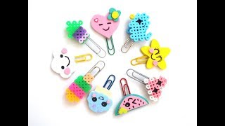 getlinkyoutube.com-Manualidades kawaii: DECORA tus CLIPS - Vuelta al cole