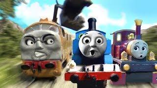 getlinkyoutube.com-Thomas & the Magic Railroad CHASE Remake HO/OO