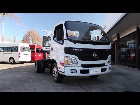 Foton Aumark light duty truck informational video