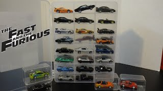 getlinkyoutube.com-The Fast and Furious Cars Collection - New Case - Hot Wheels | Racing Champions