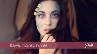 getlinkyoutube.com-Halloween tutorial x Mermaid | Teske