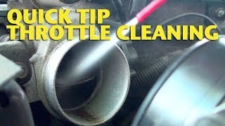 getlinkyoutube.com-Quick Tip-Throttle Cleaning - EricTheCarGuy
